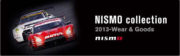 NISMO collection 2013-Wear & Goods