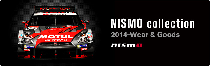 NISMO collection 2014-Wear & Goods