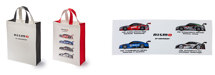 NISMO 30th Anniversary S-GT トートバッグ/NISMO 30th Anniversary S-GT スポーツタオル