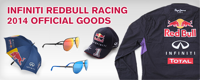 INFINITI REDBULL RACING 2014 OFFICIAL GOODS