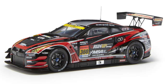 OKINAWA IMP RUN UP GT-R(#360 SUPER GT300 2014)