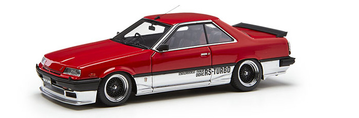Nissan Skyline 2000 RS-X Turbo-C(R30) Red/Silver