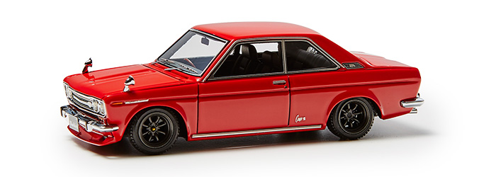 Datsun Bluebird Coupe (KP510 Red)