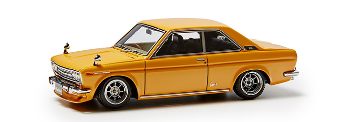 Datsun Bluebird Coupe (KP510 Brown)