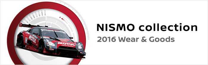 NISMO collection 2016 Wear & Goods