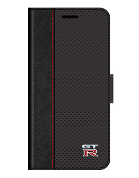 GT-R Punching Leather Book Type Case