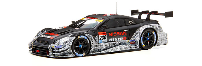 NISSAN GT-R NISMO (#230 SUPER GT GT500 2017 test car)