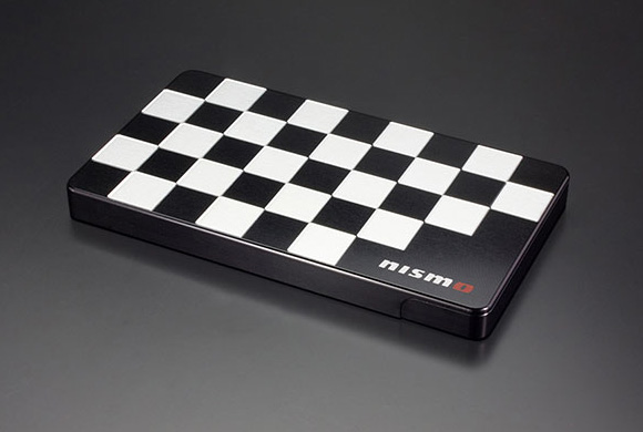 Duralumin Card Case NISSAN Nismo Old Logo Model New JAPAN