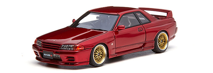 Nissan Skyline GT-R Nismo (R32) S-tune Red Pearl Metallic