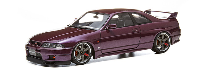 Nissan Skyline GT-R (R33 V-spec Midnight Purple)