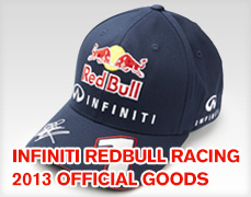 INFINITI REDBULL RACING 2013 OFFICIAL GOODS
